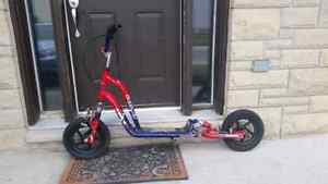 Big-Wheeled Scooter