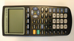 TEXAS INSTRUMENTS TI-83 PLUS Graphing Calculator.