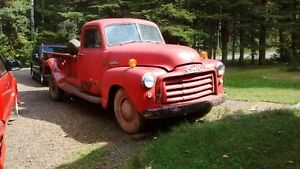 Pickup GMC 1952 Model 9430 1 tonne, boite de 9 pi.