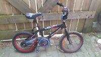 "Boys Bike - 16"" wheels"