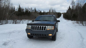 Jeep Grand Cherokee 2001 cuire VUS