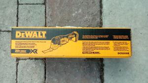 bnib dewalt bruschless oscillating tool