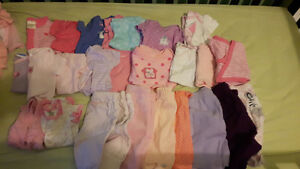 Baby girl clothing lot nb to 3 to 6 Kingston Kingston Area image 3