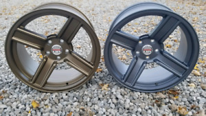 "18""X9"" OR 18""X10"" 5x114.3 $450 A SET NEW!!!"