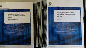 Training textbook for WebSphere V8