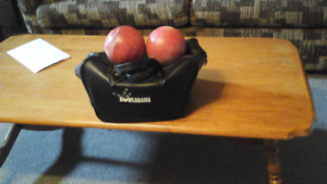 Bowling Balls with carry case