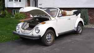 79 vw beetle ragtop want gone this weekend