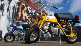 Honda z50a monkey bike yellow/silver 1969