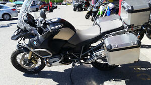 2013 and 2010 BMW GS 1200 Adventure