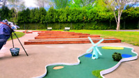 Jeux gonflables⛳ Mini Golf Mobile wow 514-777-4138