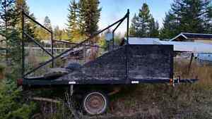 Quad/Sled Trailer with overhead rack