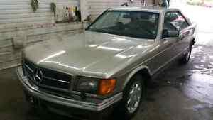 Mercedes-Benz sec 1990