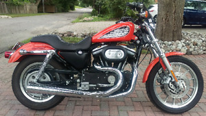 2002 833r Sportster with 1200 cc kit