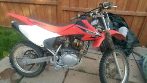 2008 Crf150F papers!