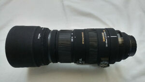 Sigma 120-400mm F4.5-5.6 Zoom Lens For Canon