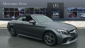image for 2021 Mercedes-Benz C-CLASS C300d AMG Line Premium 2dr 9G-Tronic Diesel Cabriolet
