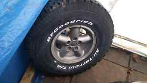 """33"""" Spare Tire for Jeep TJ"""