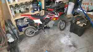 49cc mini dirt bike...runs good ... good condition