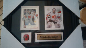 Framed Hockey Cards with pin & name - Great Christmas Gift! Kitchener / Waterloo Kitchener Area image 1