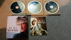 Rod Stewart 3 disks and metal collectors case Mint Condition 9$. London Ontario image 3