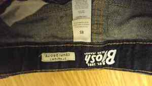 Dark Demin (like new) boys size 8S jeans Kingston Kingston Area image 3