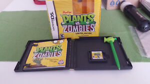 PLANTS VS ZOMBIES LIMITED EDITION DS GAME