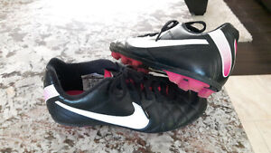Nike soccer cleats - girls size 1
