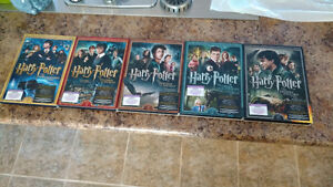 Harry Potter DVD 1 à 3, 5 et 7 partie 2
