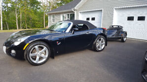 Pontiac Solstice 2006 Convertable and Trailor