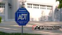 Get a FREE ADT alarm system today!