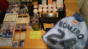 Toronto Blue Jays signed/ autographed package