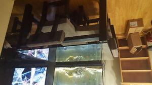 Glass top table. 90.00 obo