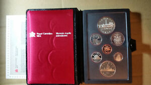 Canada Double Dollar 7 coin sets and more, 1994, 1990, 1989...
