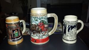 Vintage Beer Stein collection