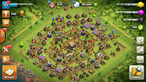 Cash of clans account th11
