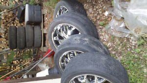 22 inch  dodge/Ford rims Kingston Kingston Area image 2