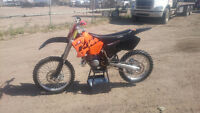 KTM SX 125 READY FOR THE LONG WEEKEND