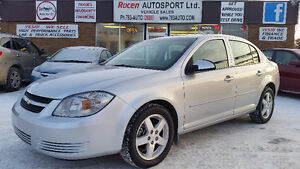 "CERTIFIED 2010 COBALT ""LT"" 4DR - AUTO - LOADED - ABS - YORKTON"