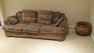 Santa Fe Style Long and Deep COUCH- Very Clean and well kept