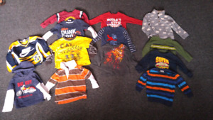 Clothing sizes Boys 6 months-3T, girls 18 months-8