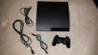 250 gig ps3 with controller, hdmi & 4 games