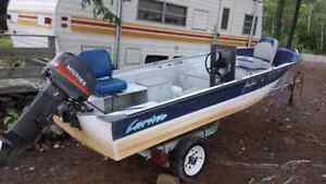Boat,motor and trailer for sale.