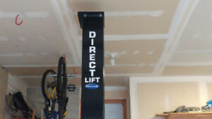Direct lift 2 post 8000lb hoist