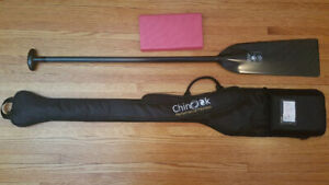 Dragonboat diablo paddle, bag and pad package Chinook