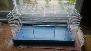 Blue & White All Metal Small Animal Cage - Great Condition