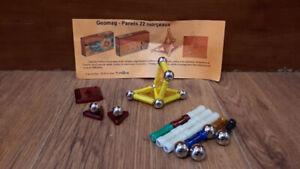Ensemble de construction (40 pièces) magnétique geomag (complet)