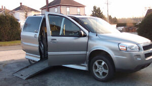2009 Chevrolet Uplander Wheelchair Van