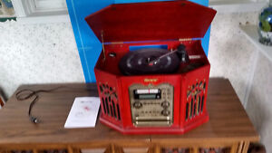 Stereo with record player Stratford Kitchener Area image 1
