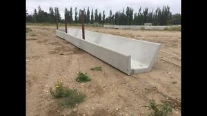 Concrete Precast Cattle Feeders