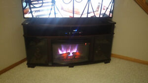 65 inch fireplace stand